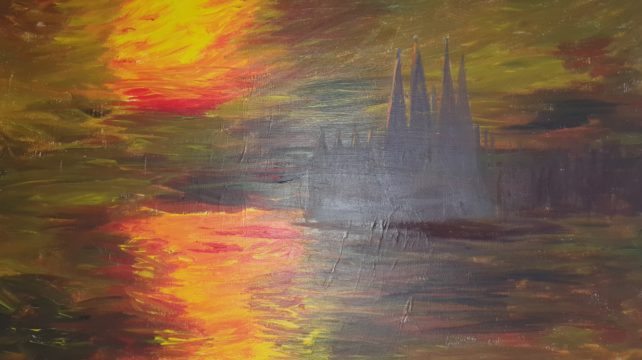 Sagrada Familia by Russell Collins