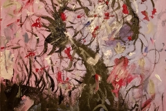 Abstract Cherry Tree